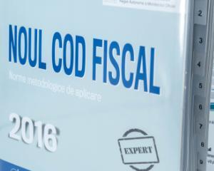 Evenimentul anului pentru contabili: Lansare Noul Cod Fiscal 2016