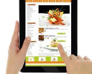 Restaurantele romanesti, comenzi de 4 ori mai mari in online