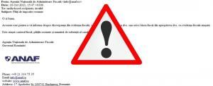 Mesaje false in numele ANAF. Atentie la aceasta adresa de email!