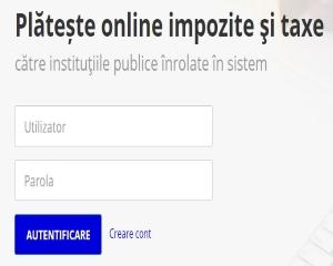 Platile pentru CAS, CASS si impozitul pe venit, aferente declaratiei unice, se pot achita pe ghiseul.ro